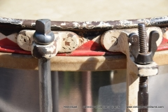 011 Sonor snare WW2 Joh. Link 1941 269 Alu rood-zw. pastil (6)