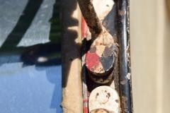 011 Sonor snare WW2 Joh. Link 1941 269 Alu rood-zw. pastil (9)