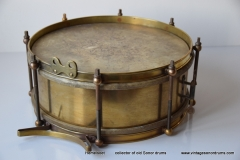 03 Sonor snare Joh. Link messing Trommelfabrik Weissenfels (1)