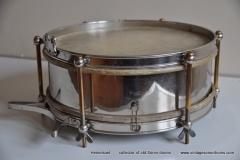 Sonor marschtrommel 1930-1950 nikkel 31,5 cm. 6 lugs (10)