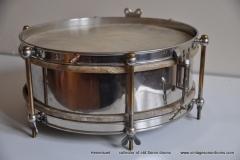 Sonor marschtrommel 1930-1950 nikkel 31,5 cm. 6 lugs (12)