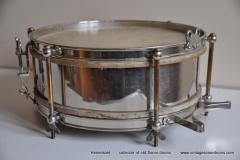 Sonor marschtrommel 1930-1950 nikkel 31,5 cm. 6 lugs (14)