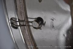Sonor marschtrommel 1930-1950 nikkel 31,5 cm. 6 lugs (19)