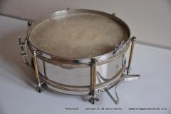 Sonor marschtrommel 1930-1950 nikkel 31,5 cm. 6 lugs (2)