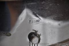 Sonor marschtrommel 1930-1950 nikkel 31,5 cm. 6 lugs (20)