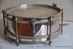 Sonor marschtrommel 1930-1950 nikkel 31,5 cm. 6 lugs (6)