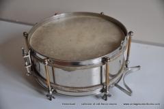 Sonor marschtrommel 1930-1950 nikkel 31,5 cm. 6 lugs (8)