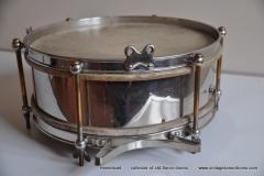 Sonor marschtrommel 1930-1950 nikkel 31,5 cm. 6 lugs (9)