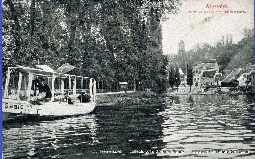 08 Trommelfabrik ad Saale 1908  z. schoorsteen vk