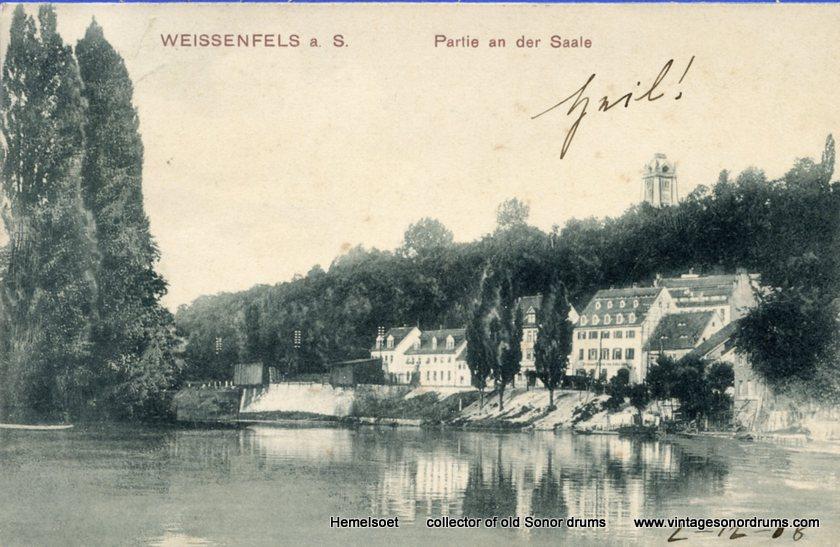 09 Trommelfabrik ad Saale 1908  z. schoorsteen vk