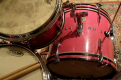 Sonor teardrop 18 inch bass pink (15)