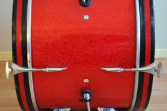 016 Sonor set teardrop red sparkle 1965 (14)