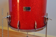 016 Sonor set teardrop red sparkle 1965 (17)