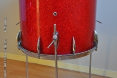 016 Sonor set teardrop red sparkle 1965 (18)