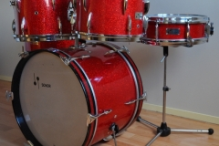 016 Sonor set teardrop red sparkle 1965 (3)