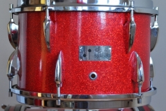 016 Sonor set teardrop red sparkle 1965 (6)