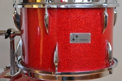 016 Sonor set teardrop red sparkle 1965 (8)