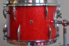 016 Sonor set teardrop red sparkle 1965 (9)