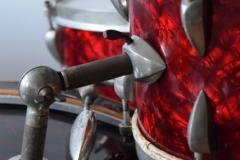 03 Sonor set 50ties 70 cm. perloïd Rubin rot (10)