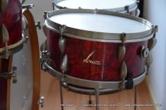 03 Sonor set 50ties 70 cm. perloïd Rubin rot (16)