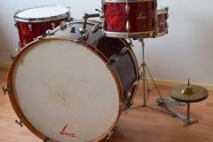 03 Sonor set 50ties 70 cm. perloïd Rubin rot (3)
