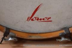 03 Sonor set 50ties 70 cm. perloïd Rubin rot (7)