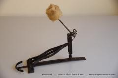 009 Sonor voetpedaal 646-5 zwart 1932-1952 (2)