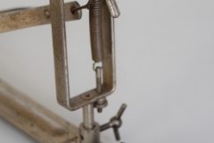 009a Sonor footpedal 646-5 nickl 1932-1952. (11)