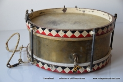 010 Sonor snare WW2  Joh. Link 11 JR 688-2 messing triangel logo stamped (2)