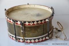 010 Sonor snare WW2  Joh. Link 11 JR 688-2 messing triangel logo stamped (4)