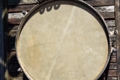 011 Sonor snare WW2 Joh. Link 1941 269 Alu rood-zw. pastil (14)