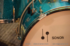 Sonor set Turkis sparkle (5)