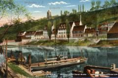 02 Trommelfabrik ad Saale 1922 met schoorsteen vk