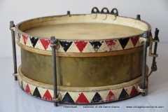 06 Sonor snare Joh. Link 1936 312 rood-zw. triangel logo (3)