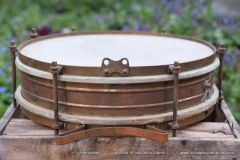 07 Sonor snare marching brass 32 x 8 cm. shell (1)