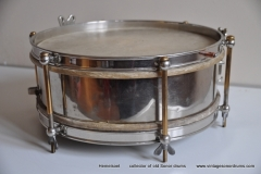 Sonor marschtrommel 1930-1950 nikkel 31,5 cm. 6 lugs (11)