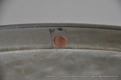 Sonor marschtrommel 1930-1950 nikkel 31,5 cm. 6 lugs (22)
