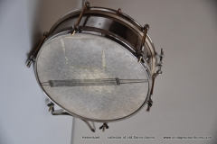 Sonor marschtrommel 1930-1950 nikkel 31,5 cm. 6 lugs (26)