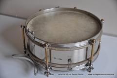 Sonor marschtrommel 1930-1950 nikkel 31,5 cm. 6 lugs (3)