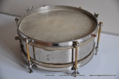 Sonor marschtrommel 1930-1950 nikkel 31,5 cm. 6 lugs (4)