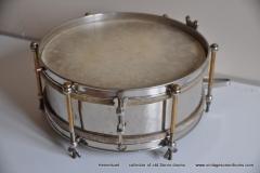 Sonor marschtrommel 1930-1950 nikkel 31,5 cm. 6 lugs (5)