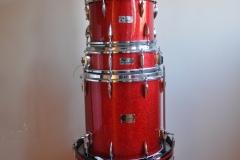016 Sonor set teardrop red sparkle 1965 (1)