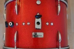 016 Sonor set teardrop red sparkle 1965 (12)