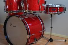 016 Sonor set teardrop red sparkle 1965 (3)