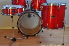 016 Sonor set teardrop red sparkle 1965 (4)