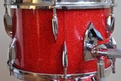 016 Sonor set teardrop red sparkle 1965 (7)