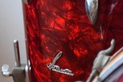 03 Sonor set 50ties 70 cm. perloïd Rubin rot (12)