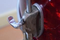 03 Sonor set 50ties 70 cm. perloïd Rubin rot (13)