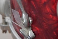 03 Sonor set 50ties 70 cm. perloïd Rubin rot (18)