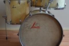06 Sonor set '54-'57 wmp metal script logo lange lugs bass (2)